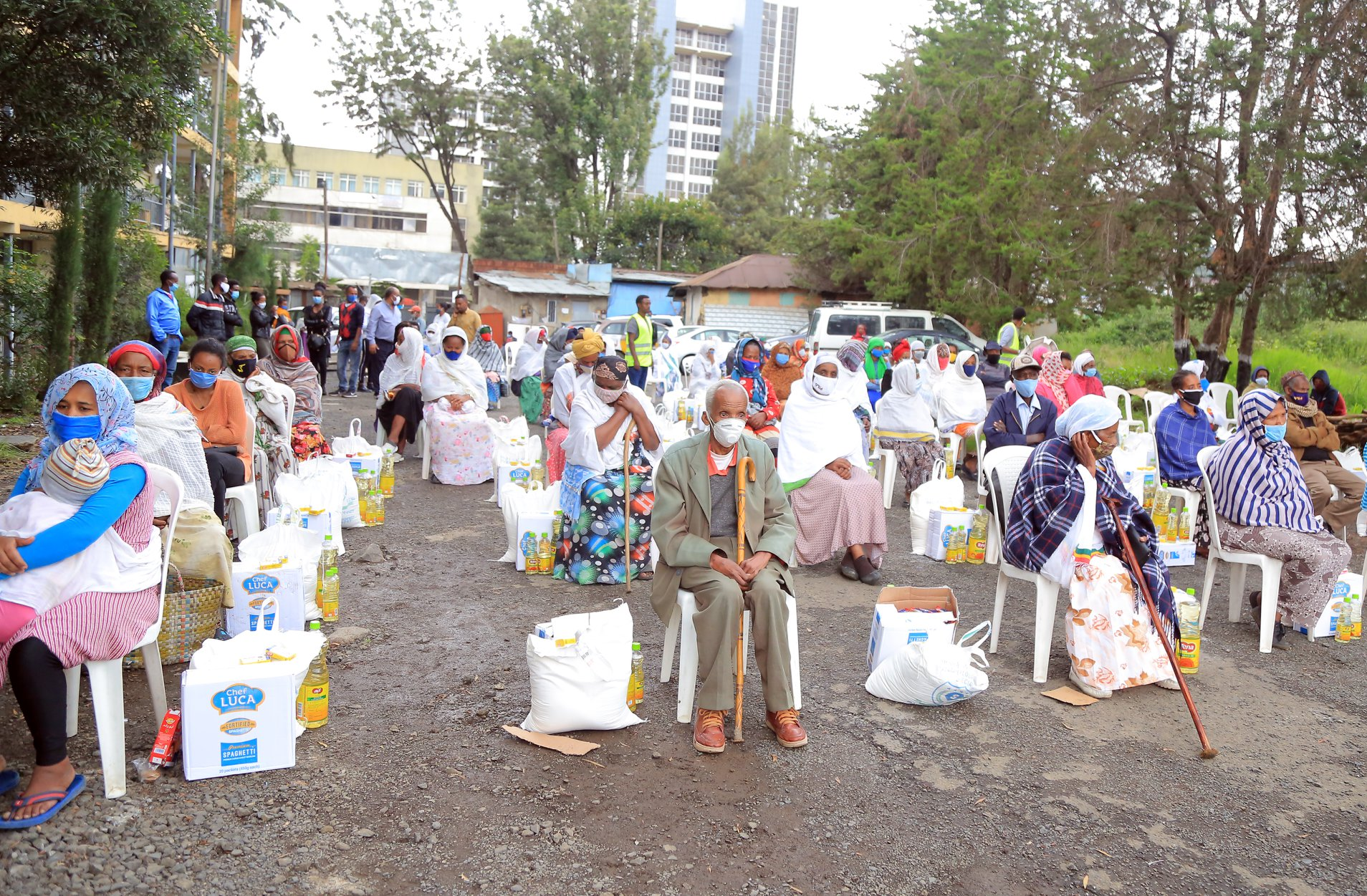 Awach distributing essential products