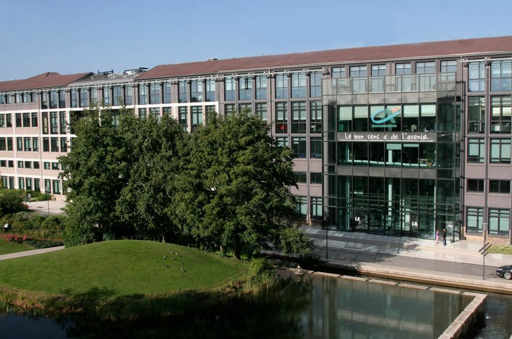 Headquarters of Crédit Agricole, the largest co-op in the world
